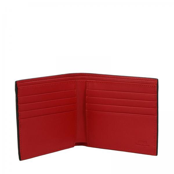 Bag By Devil Libro Uomo A Vera Borsa Fendi Pelle Eyes 7m0169 Bugs A72k NeroPortafoglio In Orizzontale Maxi Con j3cq5AL4R