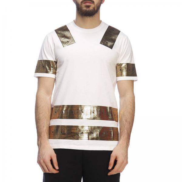 Primavera Versace V800683r 2019 verano Hombre Collection Camiseta Vj00597giglio fRqwang