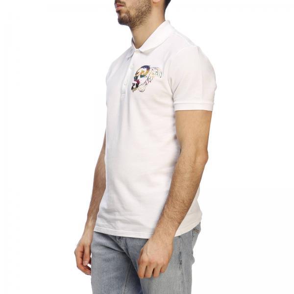 Vj00068giglio Primavera Collection 2019 Hombre verano Blanco V800543u Camiseta Versace aXfKY