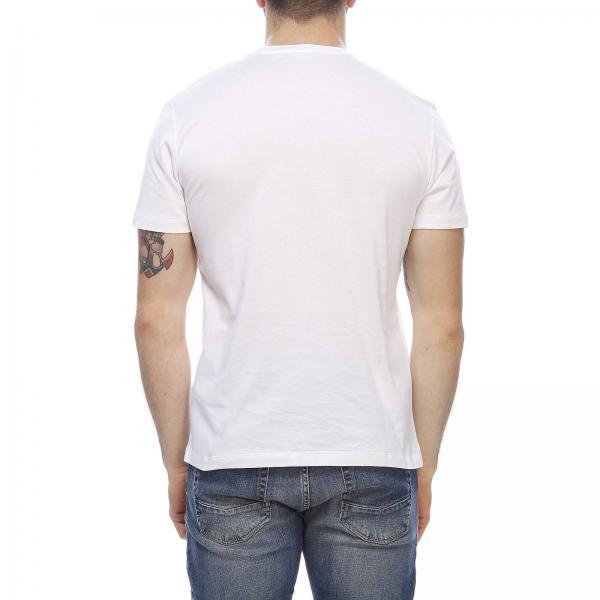 Con Corte Tabloid Versace T A Stampa shirt Maxi Maniche QodeCErBWx