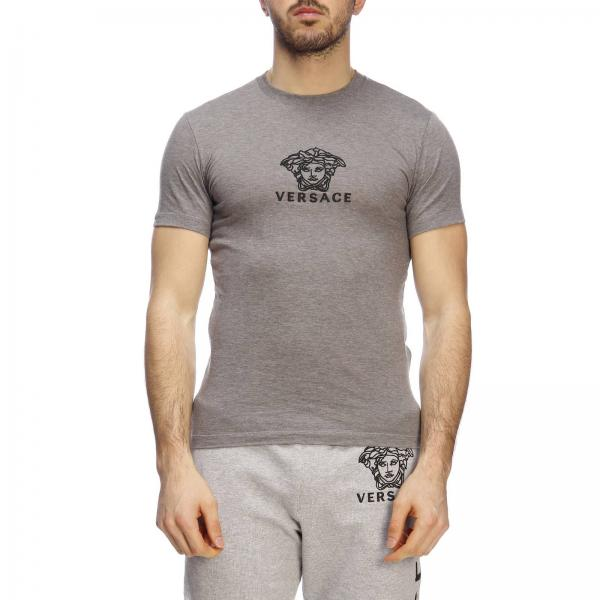 a975eb6be32 T-shirt Homme Versace Gris