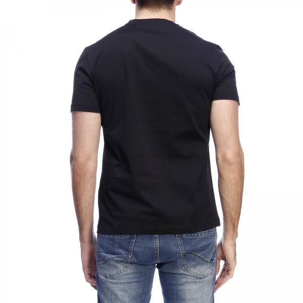 Maniche Di A T Stampa Versace Barocca Con Maxi shirt Corte PTOuZikX
