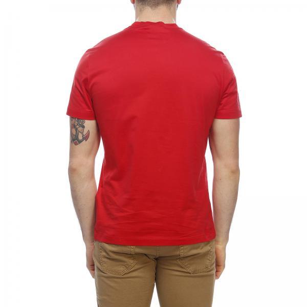 shirt Maniche Barocca Versace Di T Stampa Con Maxi Corte A tQCxshdr