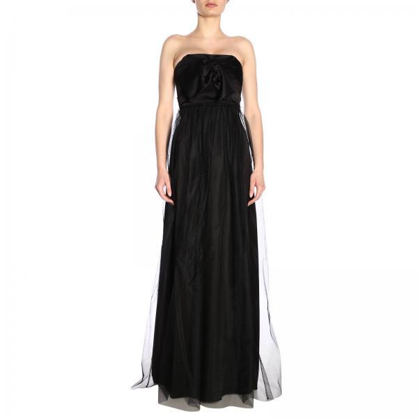 7505 Mujer Uniqueness Pinko 2019 3u10hl verano Primavera Negro Vestido Bolerogiglio xH7a7