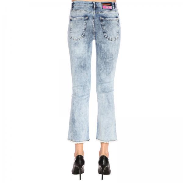 Con Cropped Christie Denim Jeans 28 Trombetta Frange vm8yn0wONP