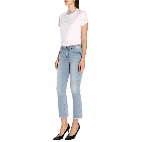 Denim Frange Christie Jeans Con Cropped Trombetta 28 m0On8yPvNw