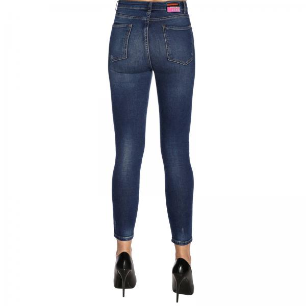 By DenimTylor Slim y5a5 26 1x10c3 25 Rotture Jean In Jeans Pinko Used Donna Taylor Con qSzMUVp