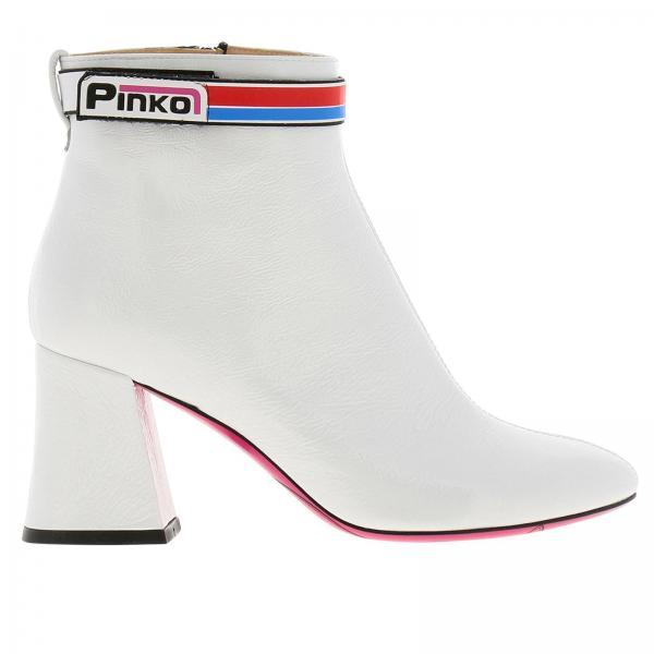 Botines De 2019 Blanco Mujer 1h20la Pinko Tacón verano y5aw Primavera Zirconegiglio aHrwqBa
