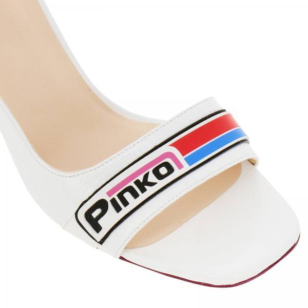 y5at Primavera Pinko Blanco Mujer 2019 Sandalias Ramegiglio verano 1h20l8 Tacón De wOq8AHYt
