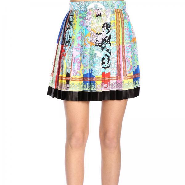 Mujer Versace Fantasía verano Falda Primavera A229975giglio 2019 A79448 S14wUqx