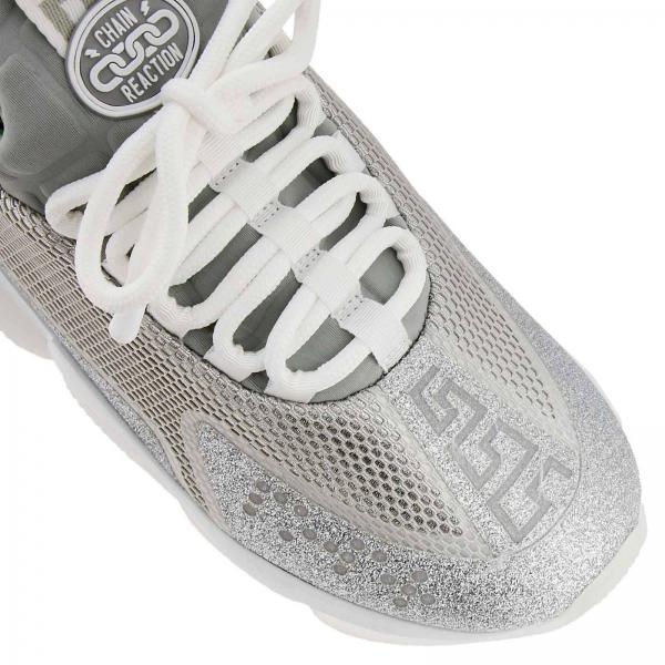 Plata Mujer Zapatillas Primavera D27tggiglio Dsr857g Versace 2019 verano H8gcPFqWg