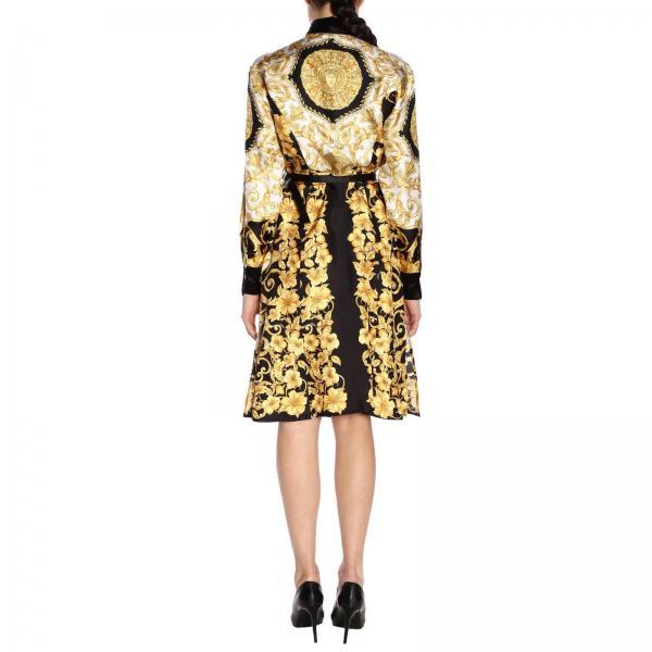 A81919 Fantasía Primavera A228617giglio Mujer Vestido verano Versace 2019 qwft8fH