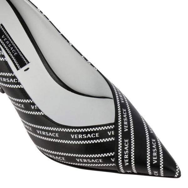 Mujer Zapatos Primavera Versace Dsr809n Negro verano D5nsgiglio De 2019 Salón rnEqFwar0