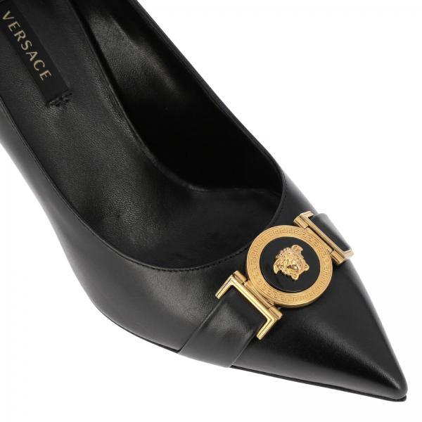 Dvt2ugiglio Zapatos Mujer verano Negro Dsr600n 2019 De Salón Versace Primavera S16Cw