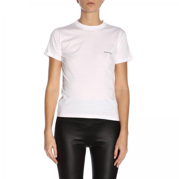 75896c6e Balenciaga Women's White T-shirt   T-shirt Women Balenciaga ...