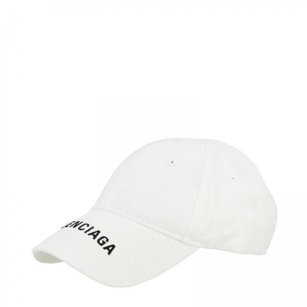 più amato 2f56e 31509 Cappello da baseball in cotone con maxi logo balenciaga