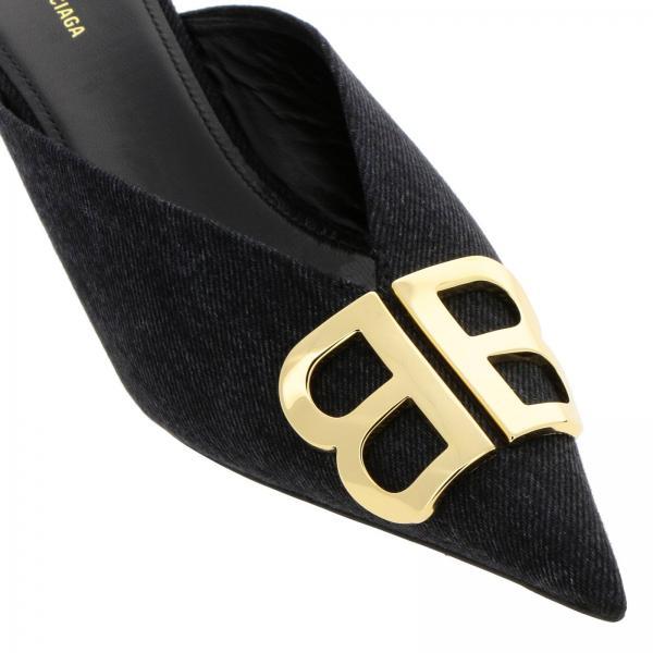 Balenciaga Tacón Negro verano 548882 Zapatos Primavera 2019 De Mujer W1m80giglio CaqnAFtx