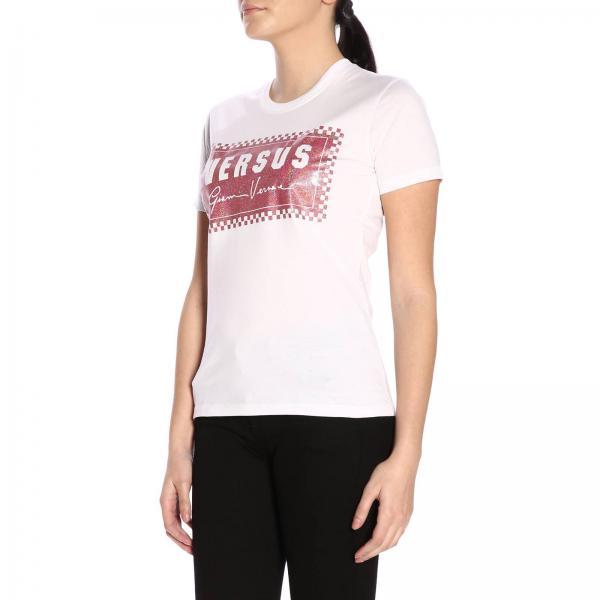 2019 Camiseta Primavera Mujer Bd90681 Versace Bj10388giglio verano Versus rw01qSr