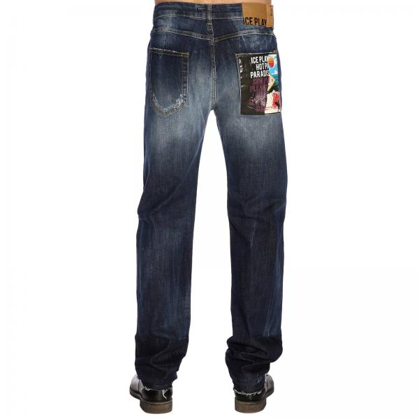 Regular Used Jeans Denim Stretch Con E Rotture Toppe dCBhsQotrx