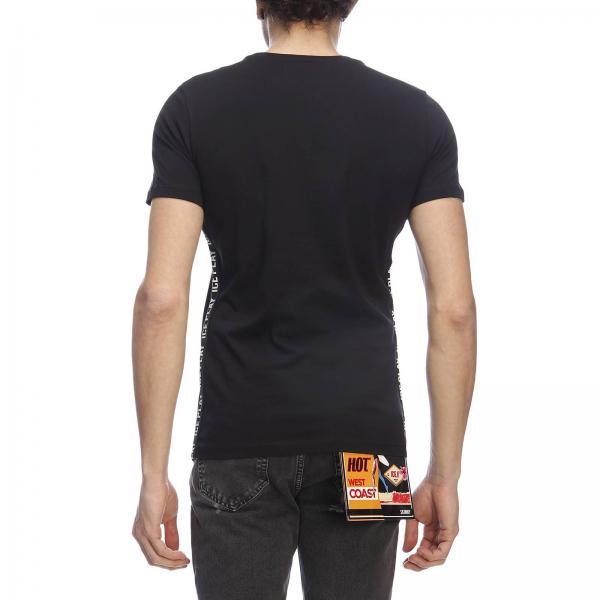 Maxi Corte Logate Stretch Bande T Maniche Laterali A shirt Basic Con QthrdCs