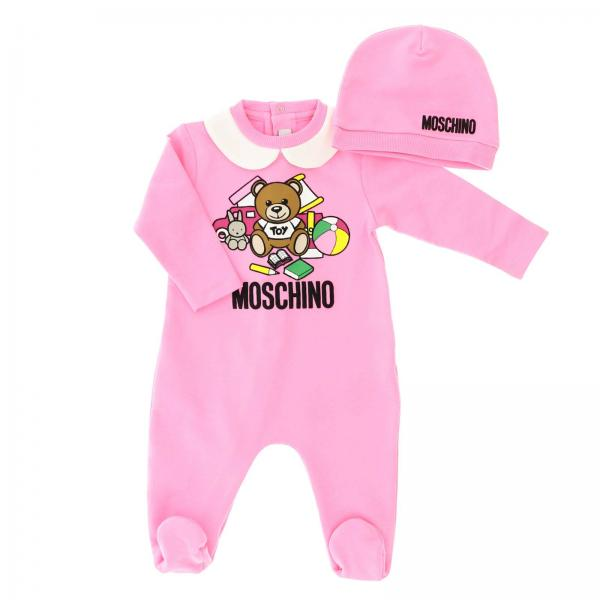 Barboteuse Moschino Baby MUY01Y LDA00