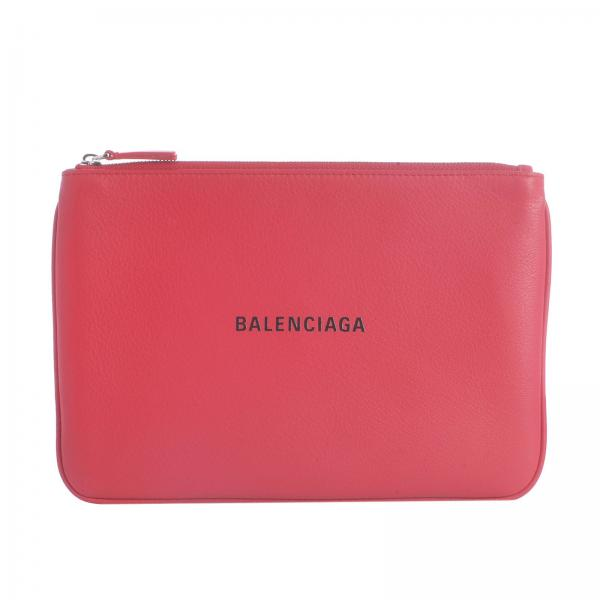 Clutch Women Balenciaga Red