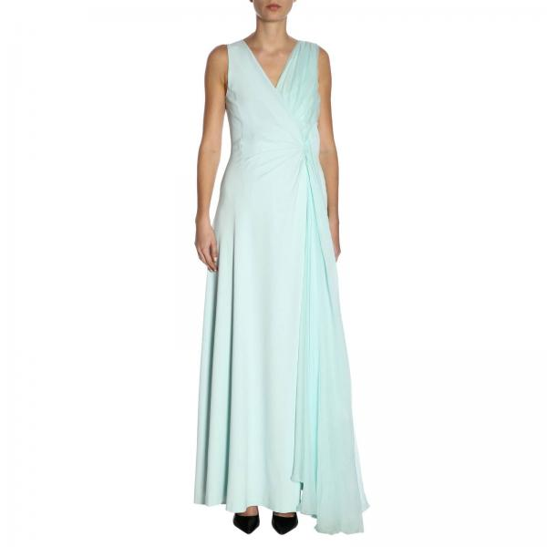 Mujer Primavera verano Blumarine 3365giglio Vestido 2019 wqgvY77x