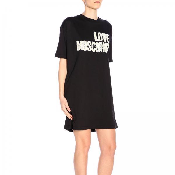 Moschino Love Primavera Mujer verano M3517giglio 2019 W592314 Vestido 4Sx8wq1w