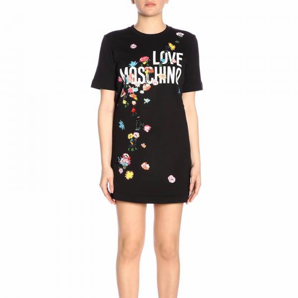 Mujer verano Love W5a0207 Vestido M4055giglio 2019 Primavera Moschino PqF6dzR