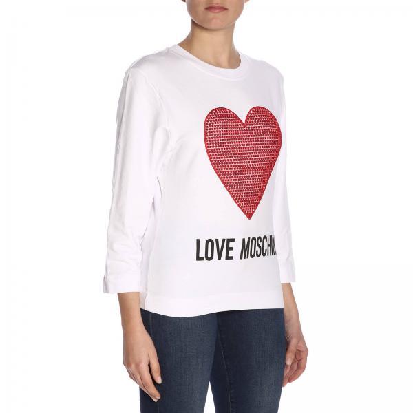 Primavera E2017giglio 2019 Moschino verano W637102 Mujer Love Jersey qBxPwZHR1W