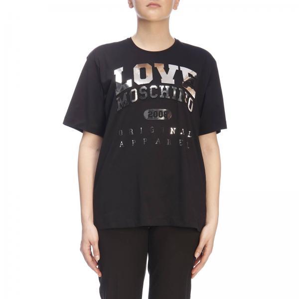Moschino M3517giglio W4f8716 verano Love Primavera 2019 Mujer Camiseta F6R6g
