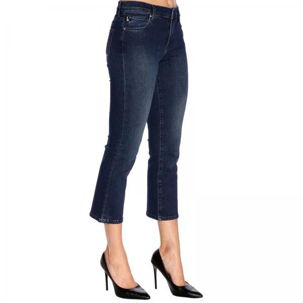 Love verano Piedra Jeans Mujer Wq42304 2019 Primavera Moschino S2993giglio Etqva0pvn