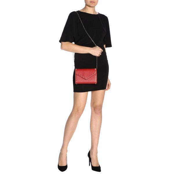 Rw2p0q48 Busta Martellata Borsa Pelle GaravaniRockstud Vsh A In Donna Mini Valentino doexCBr