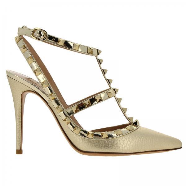 Rw2s0393 Valentino verano Zapatos Rgcgiglio Garavani Gold De 2019 Mujer Salón Primavera 6B4Yqf