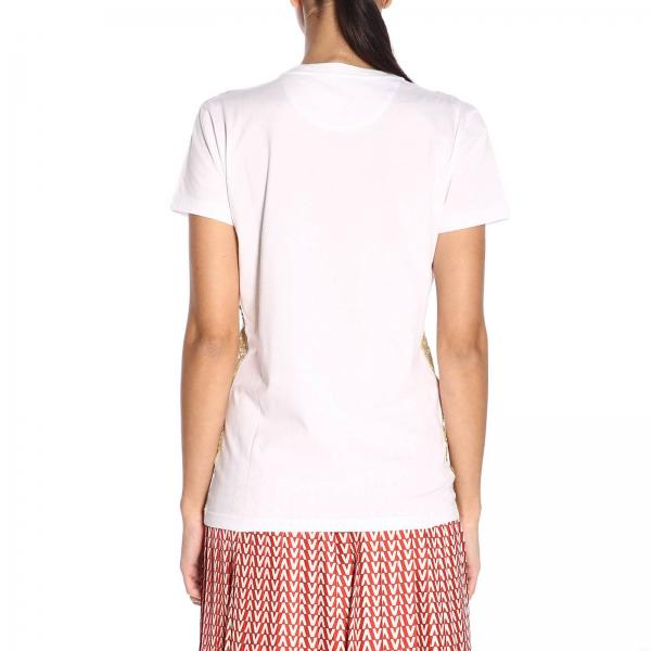 verano Hfagiglio Valentino Blanco 2019 Primavera Rb3mg00h Mujer Camiseta PHwYH