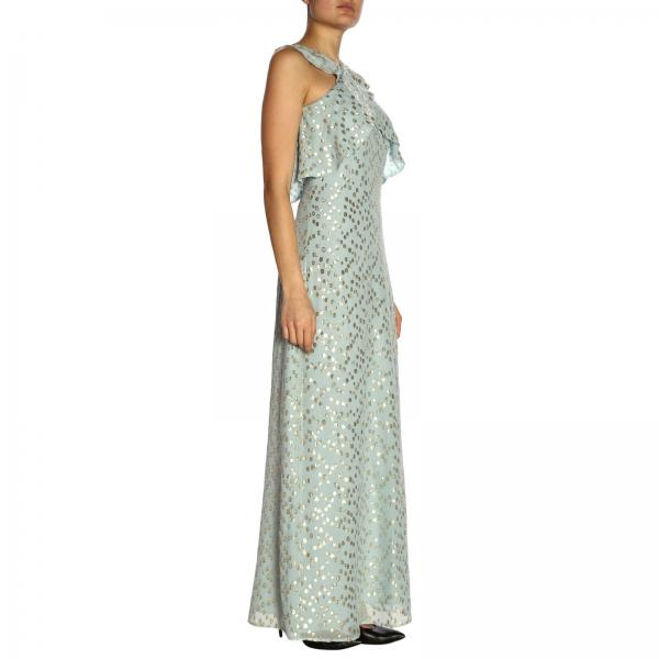 Patrizia Lurex Coupe Abito Fil Lungo In Pepe YWEH9DIe2