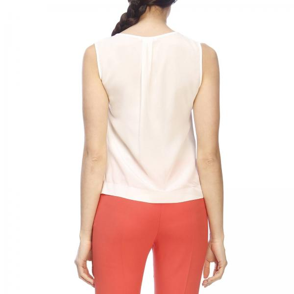 In Basic Patrizia Top Rouches Pepe Seta Con EHYD29IW