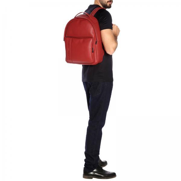 Bolso Primavera Emporio Yg89jgiglio 2019 Hombre Rojo Giorgio Armani verano Y4o194 BSBrTnq