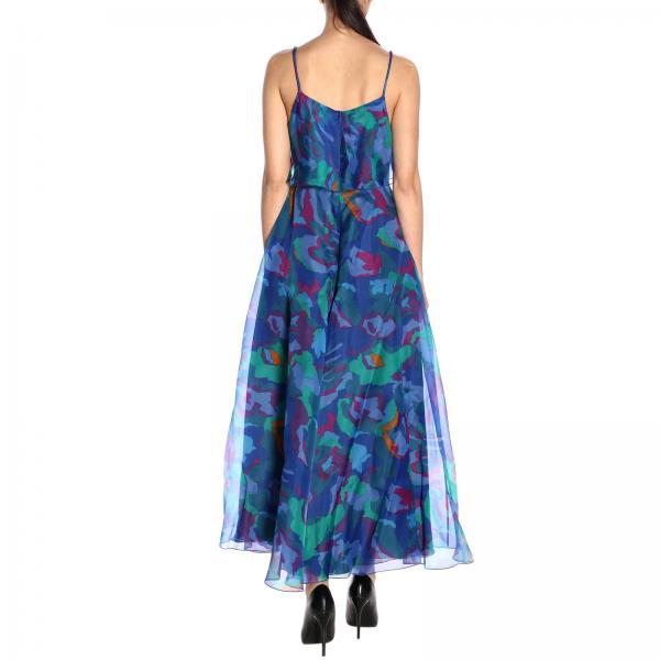 Azul Emporio 2na51t verano Mujer Primavera 22501giglio 2019 Vestido Giorgio Armani xBUtO1wn