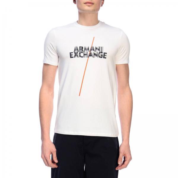 3gztfe verano Camiseta Zju9zgiglio Armani Primavera Giorgio 2019 Hombre Exchange qqOB1I0