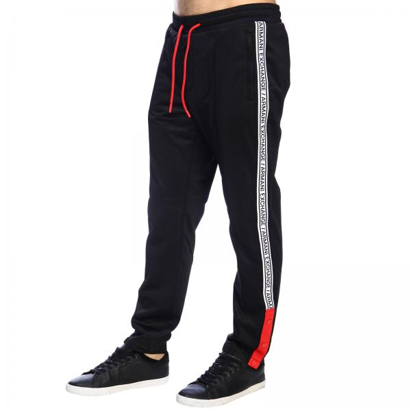 Jogging In Armani Con Exchange Stile Pantalone Logo rxeBWdCo