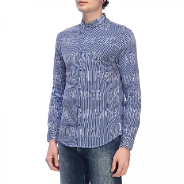 Hombre Armani 3gzc36 Primavera verano Zneazgiglio Blue Exchange 2019 Camisa Giorgio dq5aUdAw