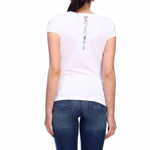 Primavera Tj12zgiglio Ea7 3gtt22 Giorgio 2019 Camiseta verano Armani Mujer wOYxFTWZqv