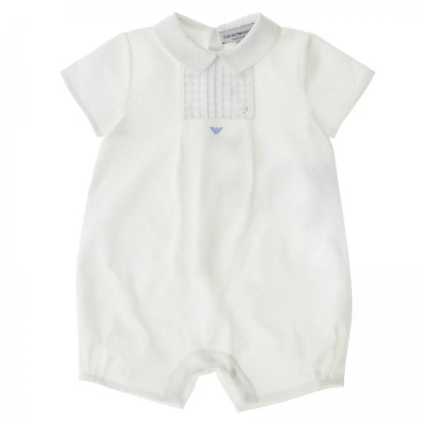 Verkaufsförderung Räumungspreise weich und leicht Strampler für Babys Emporio Armani