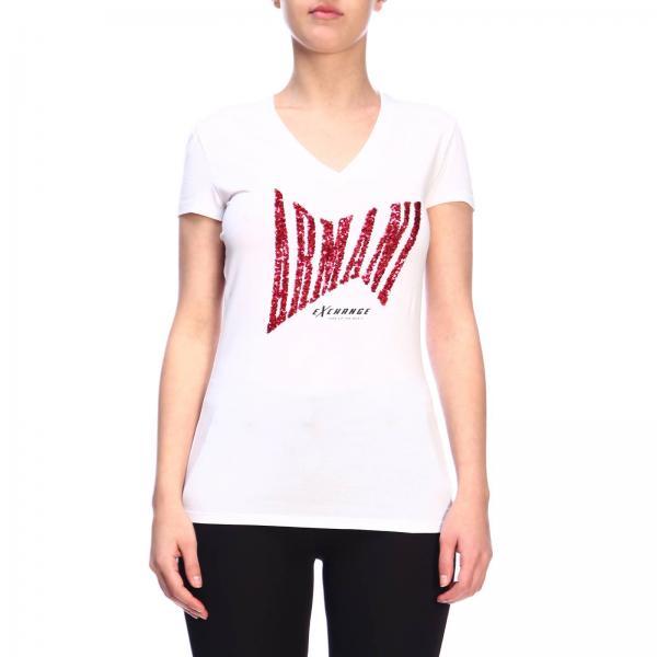 3gyt91 Yjc7zgiglio Camiseta 2019 Exchange verano Primavera Giorgio Mujer Armani Xv11wrIg