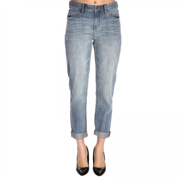 best service 22edb 2a7f7 Jeans armani exchange boyfrined a 5 tasche in denim stretch used