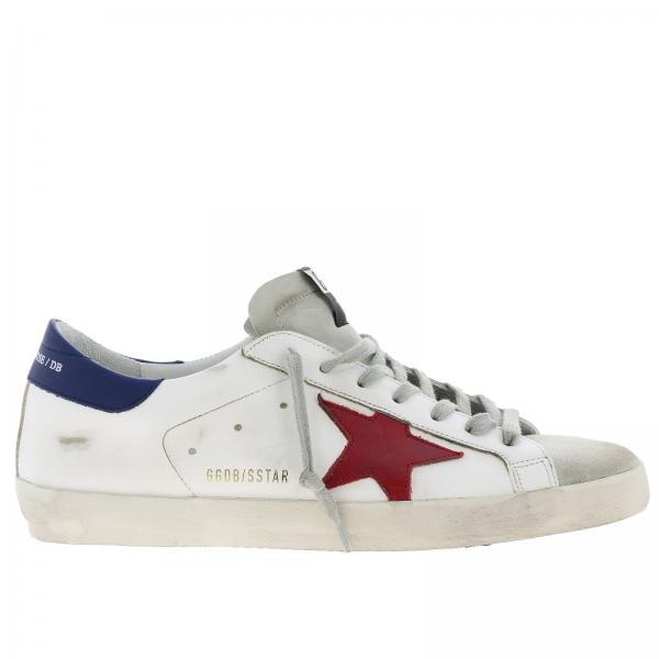 Used G34ms590 N13 Goose Pelle Effetto Golden Uomo A Stella BiancoSuperstar Sneakers Contrasto In Con u1KlFJc3T