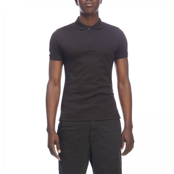 Basic Emporio Corte Jersey 3g1f86 NeroPolo Armani In shirt Uomo T Giorgio Maniche 1jprz A 80wNvnOm