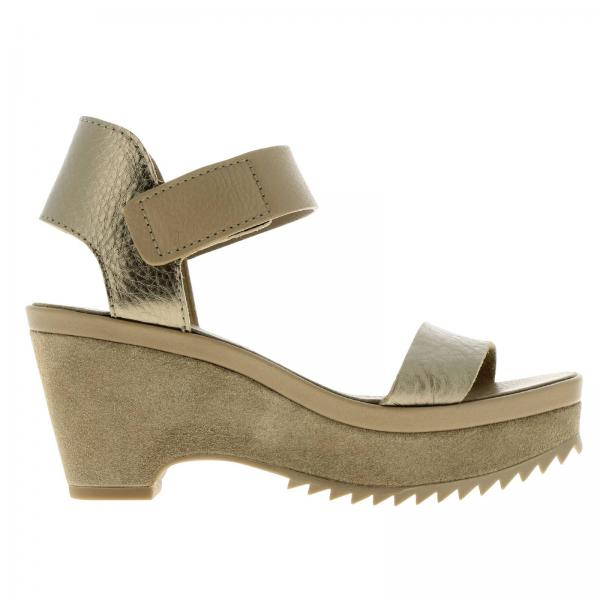 Heeled sandals Pedro Garcia FRANSES BARK CERVO LAME