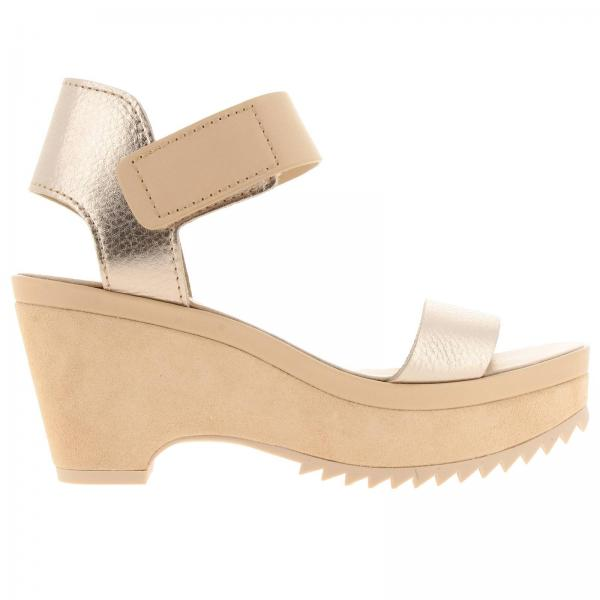 Heeled sandals Pedro Garcia FRANSES PLUME CERVO LAME